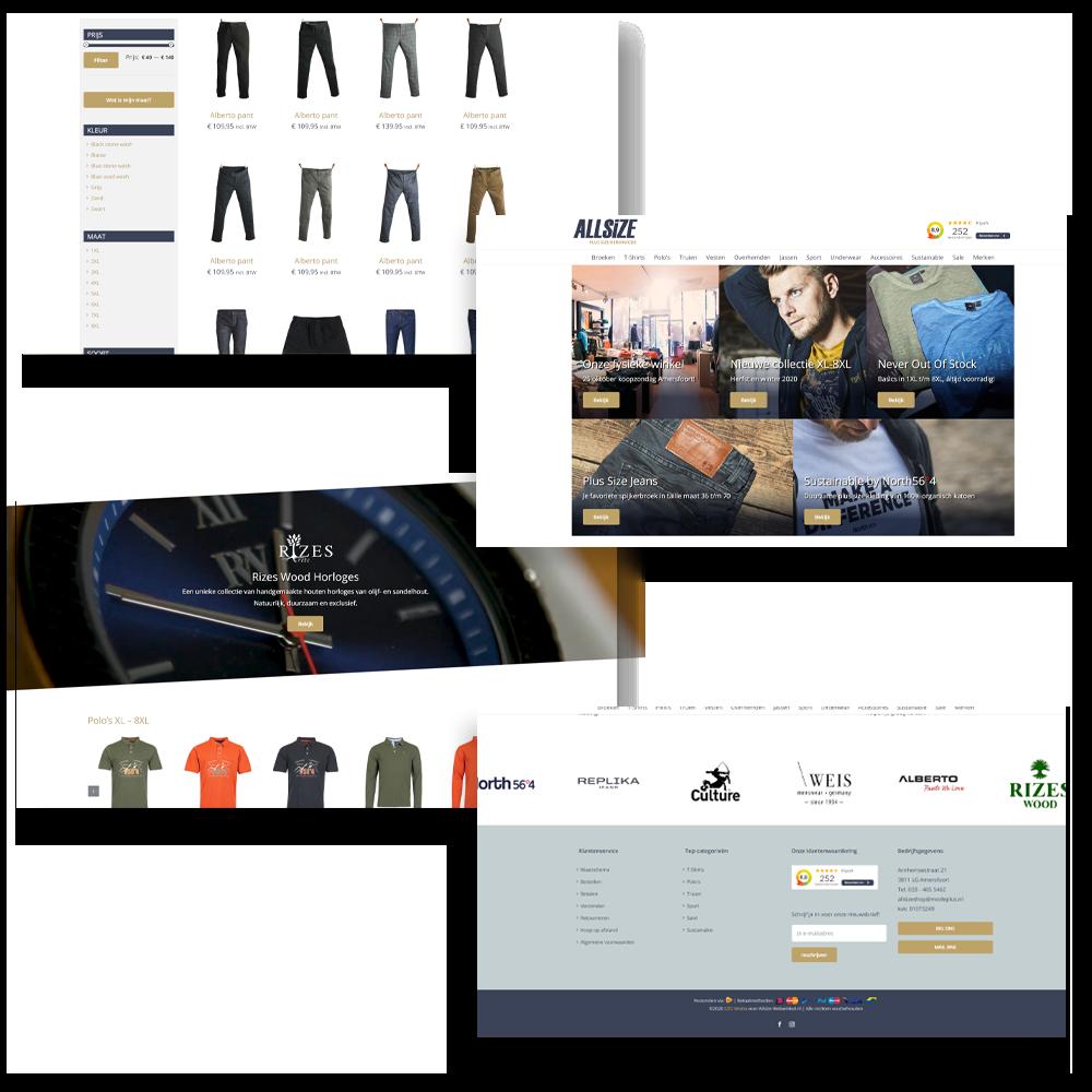Allsize Webwinkel