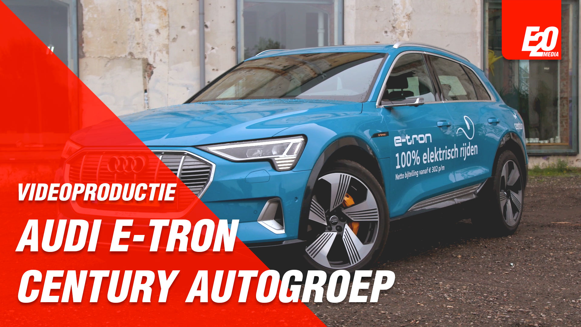 Social Media Video Century Autogroep (Audi E-tron)