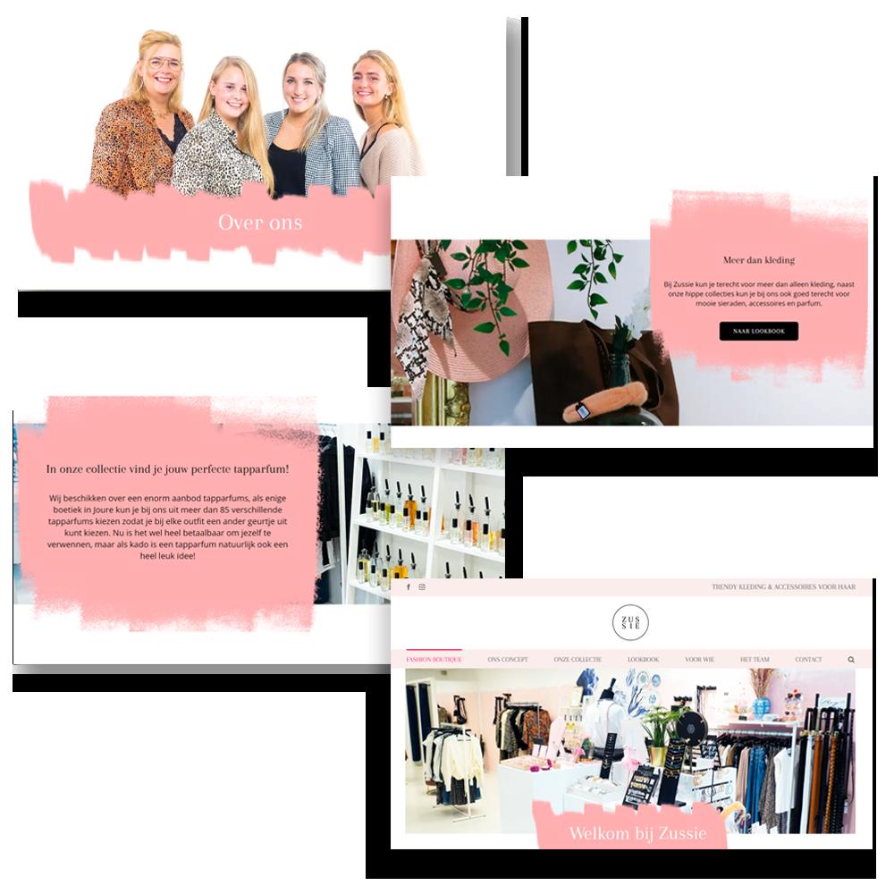 Zussie Website